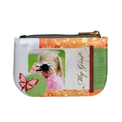 My Girl By Joely   Mini Coin Purse   Nvs43ywnhfss   Www Artscow Com Back