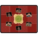 Alpha Gamma Delta Sorority XL Fleece Blanket - Fleece Blanket (Large)