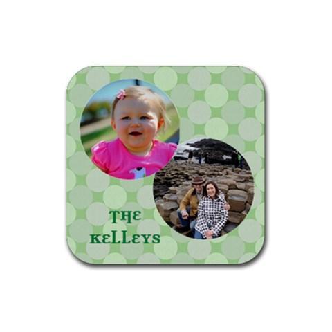 Kelley Coaster By Jen Mccormick   Rubber Coaster (square)   Ndmmrl3uttkp   Www Artscow Com Front