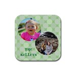 kelley coaster - Rubber Coaster (Square)