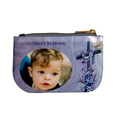 Sunday School Mini Coin Purse By Deborah   Mini Coin Purse   Gz4cw33vzfkc   Www Artscow Com Back