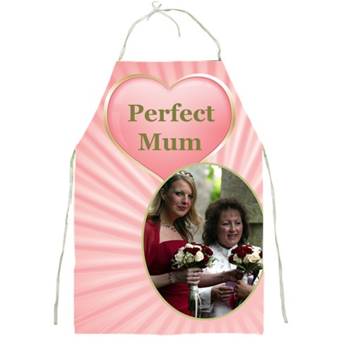 Perfect Mom Apron By Deborah   Full Print Apron   Wv456g694pnz   Www Artscow Com Front