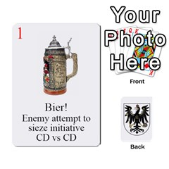 Prussian 1866/1870 Fob By Gerry Henry   Playing Cards 54 Designs   W6znj4jr8ceb   Www Artscow Com Front - Heart9