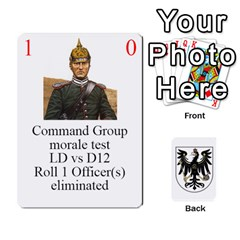 Prussian 1866/1870 Fob By Gerry Henry   Playing Cards 54 Designs   W6znj4jr8ceb   Www Artscow Com Front - Diamond7