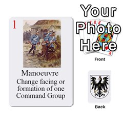 Prussian 1866/1870 Fob By Gerry Henry   Playing Cards 54 Designs   W6znj4jr8ceb   Www Artscow Com Front - Club4
