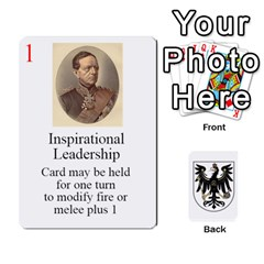 Prussian 1866/1870 Fob By Gerry Henry   Playing Cards 54 Designs   W6znj4jr8ceb   Www Artscow Com Front - Spade10
