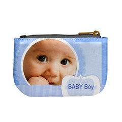 Baby Boy By Joely   Mini Coin Purse   9xjquzipi5al   Www Artscow Com Back