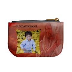 Sunday School Mini Coin Purse By Deborah   Mini Coin Purse   4tkc1vle6q5p   Www Artscow Com Back