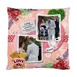 Love You Single Sided Cushion 2 - Standard Cushion Case (One Side)