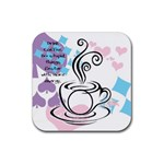 Coffee Coaster - Rubber Coaster (Square)