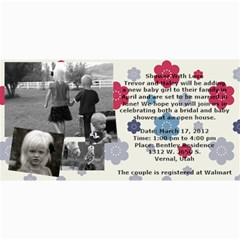 Invitation Ideas By Nadean   4  X 8  Photo Cards   7m7fr4t6hinj   Www Artscow Com 8 x4 Photo Card - 18