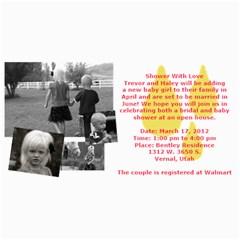 Invitation Ideas By Nadean   4  X 8  Photo Cards   7m7fr4t6hinj   Www Artscow Com 8 x4 Photo Card - 21