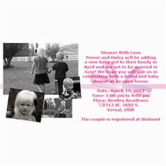 Invitation Ideas By Nadean   4  X 8  Photo Cards   7m7fr4t6hinj   Www Artscow Com 8 x4 Photo Card - 57