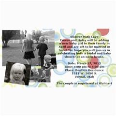 Invitation Ideas By Nadean   4  X 8  Photo Cards   7m7fr4t6hinj   Www Artscow Com 8 x4 Photo Card - 10