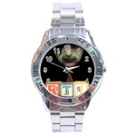 Official RTI  Stainless Steel Analogue Men's Watch