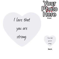 John By Kelly   Multi Purpose Cards (heart)   Vucefaowq3wj   Www Artscow Com Back 16