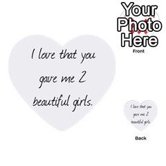 John By Kelly   Multi Purpose Cards (heart)   Vucefaowq3wj   Www Artscow Com Back 32