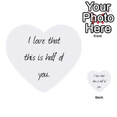 John By Kelly   Multi Purpose Cards (heart)   Vucefaowq3wj   Www Artscow Com Back 40