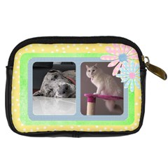 My Pal Girls Digital Camera Case By Deborah   Digital Camera Leather Case   Bh58inz38cwc   Www Artscow Com Back
