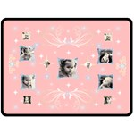 Pink Star XL Blanket - Fleece Blanket (Extra Large)