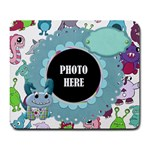 Monster Party Mouse Pad 1 - Large Mousepad