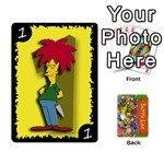 Simpsons Battle Line (Deck 1) - Playing Cards 54 Designs
