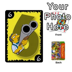 Queen Simpsons Battle Line (deck 1) By Heath Doerr   Playing Cards 54 Designs   Bctyaoxvk2uy   Www Artscow Com Front - HeartQ