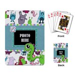 Monster Party Playing Cards 1 - Playing Cards Single Design