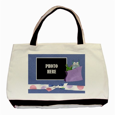 Monster Party Tote 1 By Lisa Minor   Basic Tote Bag   Gk93030s4njs   Www Artscow Com Front