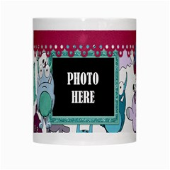 Monster Party Mug 1 By Lisa Minor   White Mug   Z3wz0vk1kar2   Www Artscow Com Center