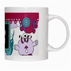 Monster Party Mug 1 By Lisa Minor   White Mug   Z3wz0vk1kar2   Www Artscow Com Right