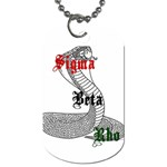 Sigma Beta Rho - HyperFuze - Dog Tag (Two Sides)