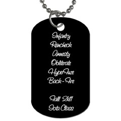 Sigmabetarho1 By Rainer Misquitta   Dog Tag (two Sides)   Xlx73vcetoq6   Www Artscow Com Back