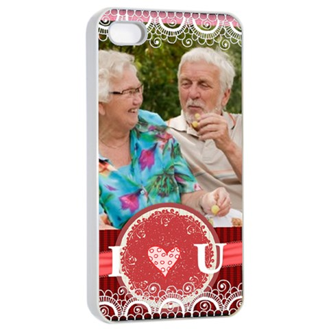 Love By Joely   Apple Iphone 4/4s Seamless Case (white)   52c200z20exb   Www Artscow Com Front