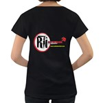 Official Rti  Maternity Black T Back