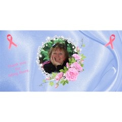 Breast Cancer Best Friend Card By Kamryn   Best Friends 3d Greeting Card (8x4)   Hy7oe7kfeo6x   Www Artscow Com Front