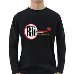 T Shirt Back Long Sleeve Dark T Front