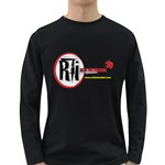 T Shirt Back Long Sleeve Dark T-Shirt