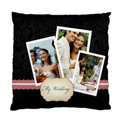 Wedding By Joely   Standard Cushion Case (two Sides)   Ac2qzegajtz3   Www Artscow Com Front