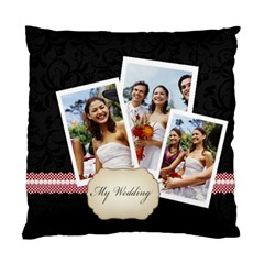 Wedding By Joely   Standard Cushion Case (two Sides)   Ac2qzegajtz3   Www Artscow Com Back