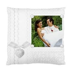 Wedding By Joely   Standard Cushion Case (two Sides)   X1umcawy543q   Www Artscow Com Back