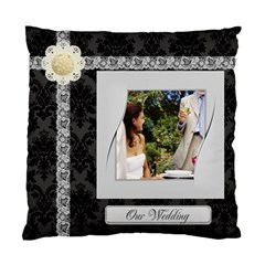 Wedding By Joely   Standard Cushion Case (two Sides)   8wh1knf3v7qi   Www Artscow Com Back
