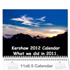 Calendar_2_Simple by Kristan Kershaw Cover