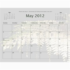 Calendar_2_Simple by Kristan Kershaw May 2012