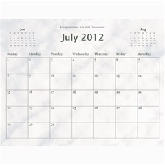 Calendar_2_Simple by Kristan Kershaw Jul 2012