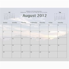 Calendar_2_Simple by Kristan Kershaw Aug 2012