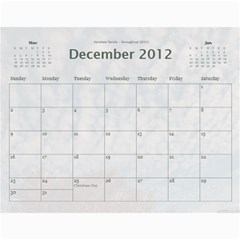 Calendar_2_Simple by Kristan Kershaw Dec 2012
