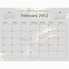 Calendar_2_Simple by Kristan Kershaw Feb 2012