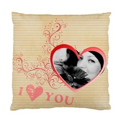 Love By May   Standard Cushion Case (two Sides)   7jcrrssocgl7   Www Artscow Com Front