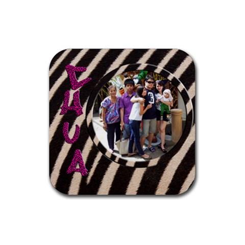 Coastermhelan By Bernadette Simon Villaverde   Rubber Coaster (square)   Rl35l4qo7so3   Www Artscow Com Front